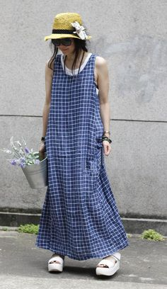 Hey, I found this really awesome Etsy listing at https://www.etsy.com/listing/232364039/women-cotton-linen-sundress-maxi-dress