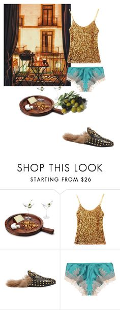 """""""As the sun sets on the olives of Roma"""" by gina-stewart75 on Polyvore featuring Europe2You, Gucci and Carine Gilson"""
