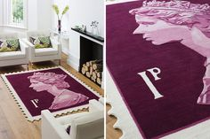 25 Pretty Rugs to Perk Up Your Space via Brit + Co.