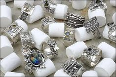 Making silver clay rings with HattieS™ Patties™