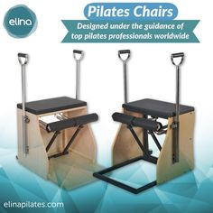 "1 Me gusta, 1 comentarios - Elina Pilates (@elinapilatesus) en Instagram: ""The most versatile Pilates chairs.  Made of high quality materials. It was designed under the…"" Pilates Equipment, Gym Equipment, Pilates Chair, Chairs, Instagram Posts, Design, Stool, Workout Equipment"