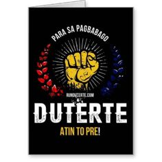 Searching for that perfect gift? Zazzle have the perfect duterte president gift for any occasion. Explore our fab gifts today! Roots, Presidents, Greeting Cards, History, Creative, Shirts, Philippines, Languages, Historia
