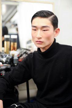 Kim Sang Woo atDsquared2Fall 2015 Milan