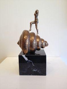 Salvador Dali  - Nude ascending the staircase  - Original patinated bronze