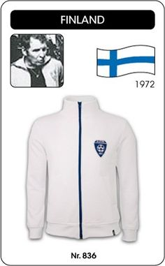 Finland voetbal jack 1972 retro voetbal truitje football soccer vintage sport COPA