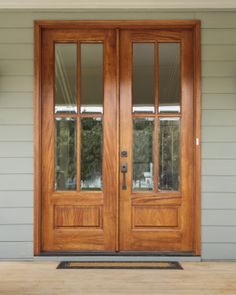 I am just really looking towards attempting doing this. french doors with screens Double Front Doors, Wood Front Doors, Glass Front Door, Wooden Doors, Glass Doors, Barn Doors, Front Door Design, Front Door Colors, Beautiful Front Doors