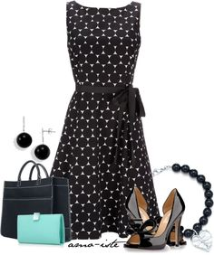 """Tiffany Bag & Wallet"" by amo-iste on Polyvore"