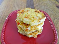 couscous and feta cakes...