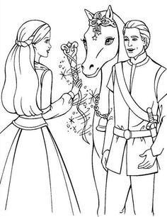 Malvorlagen Barbie und der geheimnisvolle Pegasus Ausmalbilder 3 ...