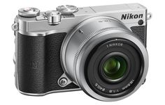 Nikon has announced the 1 J5 interchangeable lens mirrorless camera, which combines high-end features and retro looks. The new camera boasts a 20.8-megapixel BSI sensor, burst shooting at 20 fps with autofocus, and 4K video recording. It also features built-in Wi-Fi and NFC connectivity.