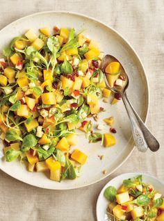 Recette de Ricardo de salade de betteraves aux pommes et aux canneberges