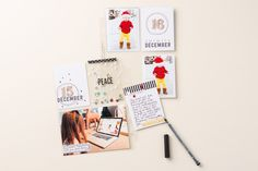 The Hello December Project Life cards and accessories make documenting your December so easy! PLxSU