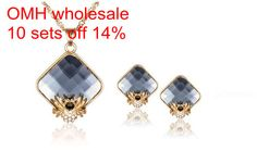 OMH wholesale 18 kt Austrian crystal fashion sexy spider necklace Earrings Women girls gift Jewelry sets TZ17-in Jewelry Sets from Jewelry & Accessories on Aliexpress.com | Alibaba Group