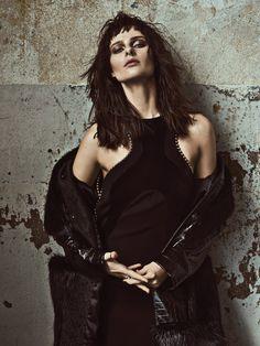 silence: vasilisa pavlova by matallana for elle mexico december 2015 | visual optimism; fashion editorials, shows, campaigns & more!