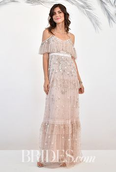 Brides.com: . Wedding dress by BHLDN