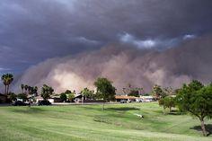 (Dust Storms) Phoenix, Arizona, 2012