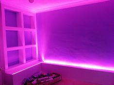led bedroom lights strip rgb lighting tape purple neon rooms leds bed astro teen decoration remote multicolor meter colourful changing