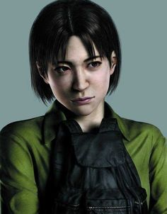 "Yoko Suzuki(Resident Evil Outbreak)  (Yoko: ""........""  Me: ""For goodness' sake, TALK, woman!  Say random dumb junk like everyone else!"")"