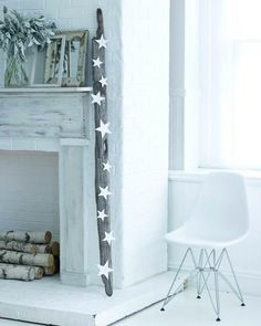Sweet Paul - Driftwood Mantle
