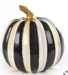 MacKenzie-Childs Courtly Stripe Pumpkin/Medium – Pressing Events