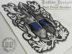 Police Officer cover up tattoo idea