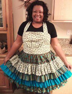 My favorite homemade apron :)