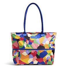 Vera Bradley Womens Lighten up Expandable Travel Tote Pop Art >>> You can find out more details at the link of the image.