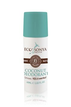 ALL natural Coconut Deodorant! And it actually works (and smells amazing!)