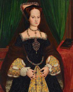 Mary I Of England, Queen Of England, Tudor Fashion, Renaissance Fashion, Mary Tudor, Tudor Dynasty, Catherine Of Aragon, European Dress, Lady Mary