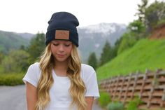 Fall Fashion☽ I LOVE this Utah Live Elevated Beanie by Lady Scorpio ✩ Save 25% off all orders with code PINTERESTXO at checkout | Mountain Adventure Accessories Shop Now LadyScorpio101.com | @LadyScorpio101 | Photography by Tim Johnson @LifesDadventures / Model @SavySociety Savannah Johnson