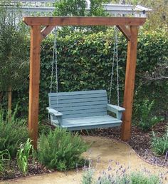 Swing for backyard