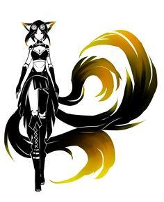 PPC - Kitsune by ZephyraVirgox on deviantART