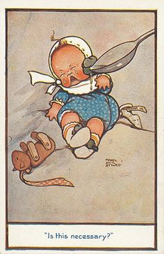 POSTCARDS: ATTWELL MABEL LUCIE, Carlton - Is This - by T Vennett-Smith