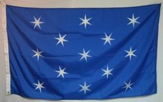 flag outside Washington's headquarters at Valley Forge