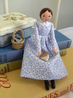 Emily Bronte, Lovely Things, Attic, Art Dolls, Vintage Inspired, Doll Clothes, Artwork, Pattern, Handmade