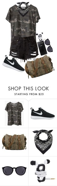 """🌟I think I'm losing my mind now🌟"" by nare-861 ❤ liked on Polyvore featuring Ragdoll, NIKE, Samsung and Yves Saint Laurent"