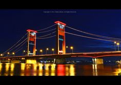 World's largest archipelago nation. Wonderful Places, Beautiful Places, Country Names, Palembang, Archipelago, Golden Gate Bridge, Custom Homes, Scenery, Heaven