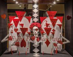 https://flic.kr/p/F3a8bg | Alice in Wonderland Themed Window Displays | Visual Merchandising Arts
