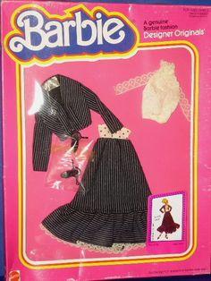 Barbie Doll Dandy Lines Superstar Era Outfit MIB Designer Originals 1981 | eBay