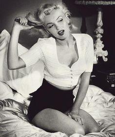 Marilyn Monroe ~ (1926 – 1962)  Photo by Bob Beerman.