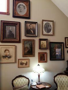 Olive Tree Genealogy Blog: Creating a Wall of Ancestors Using Flip-Pal Mobile Scanner & Shutterfly #flippal #scanners #genealogy