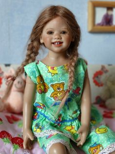 Как живут мои любимые Лиля и Пиппа / Коллекционные куклы Annette Himstedt / Бэйбики. Куклы фото. Одежда для кукол