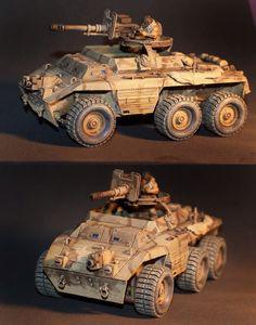 Custom Scout Vehicle