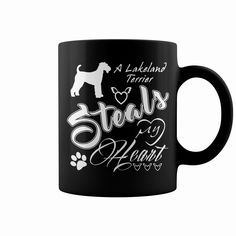 A #Lakeland #Terrier steals my heart , Order HERE ==> https://www.sunfrog.com/Pets/117997694-529856102.html?29538, Please tag & share with your friends who would love it, #birthdaygifts #renegadelife #superbowl   #entertainment #food #drink #gardening #geek #hair #beauty #health #fitness #history