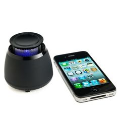 Wireless Bluetooth Speaker- BLKBOX POP360 Hands Free Bluetooth Speaker With 360 Degree Sound - For iPhones, iPads, Android Phones, Samsung Galaxies, Nexus, HTCs and all other Smart Phones, Tablets, Laptops and Computers #bluetooth #speakers