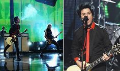 'No Trump, no KKK, no fascist USA!' Green Day's chant at AMAs #DailyMail.... Give it a rest.. The United States of America Will Never be Fascists!!!!!!!