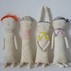 Soft dolls by Marina R