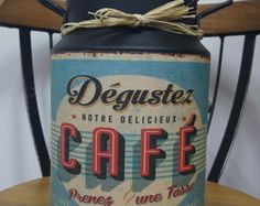Galão Decorativo Vintage Retrô 5 Litros