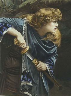 ♔ 'Imogen' ~ William Shakespeare ~ by Herbert Gustave Schmalz