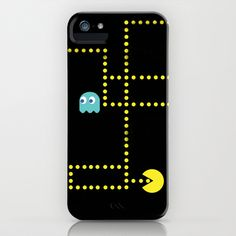 Pacman iPhone & iPod Case. Cool!